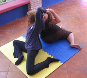 Organic Stretching with a partner