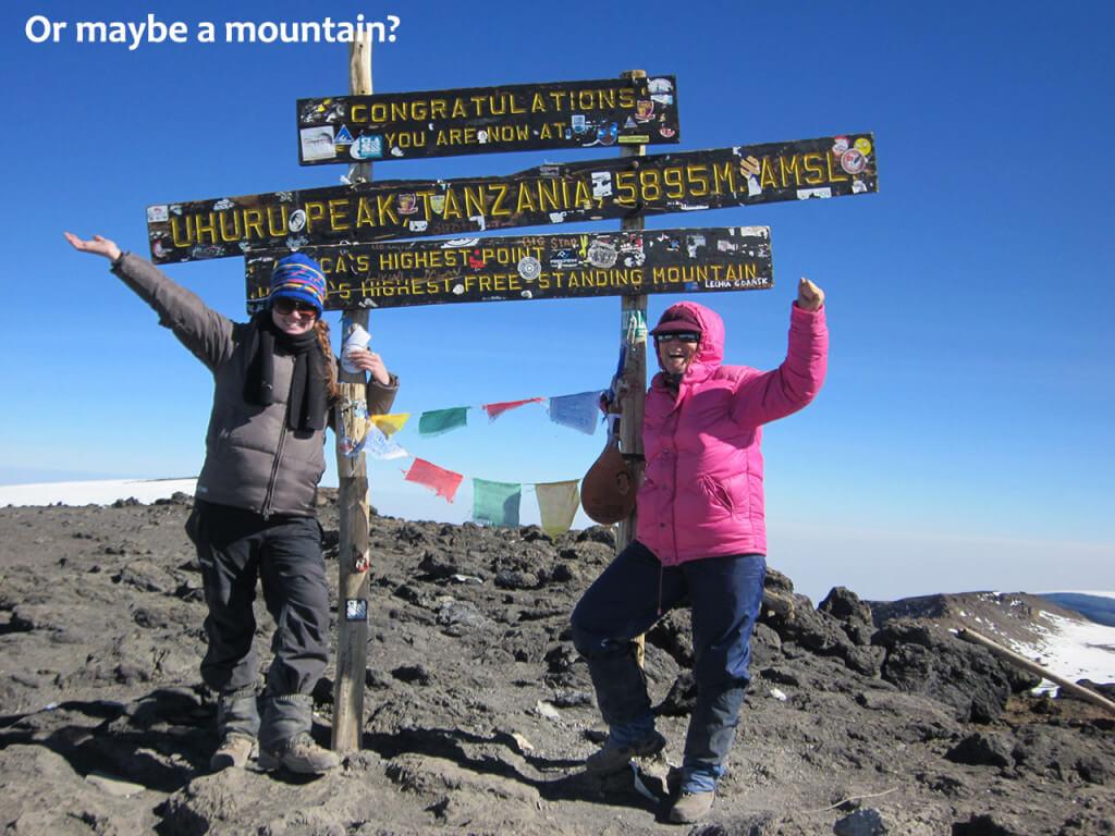 Topping Kilimanjaro